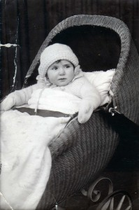My mother in 1925