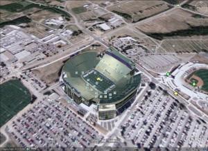 Beaver stadium from the air