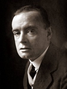 Saki, the pen name of H. H. Munro, photographed in 1913