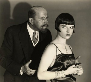 Still from the 1929 film version of The Canary Murder Case