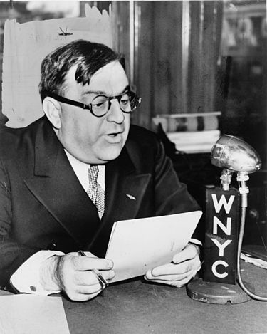 """ La Guardia revitalized New York City and restored public faith in City Hall. He unified the transit system, directed the building of low-cost public housing, public playgrounds, and parks, constructed airports, [and] reorganized the police force..."" --Wikipedia"