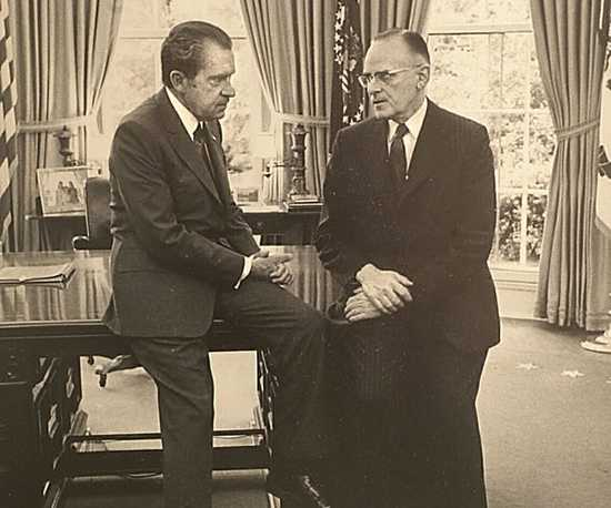 Early in his Administration, Richard Nixon had proposed abolishing the Department of Agriculture. Sectary of Agriculture Butz told me he accepted the job on the condition the Department not be abolished.