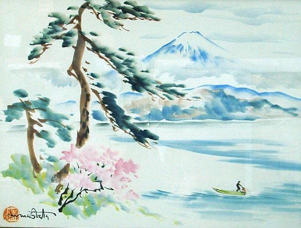 Chiura Obata's Mount Fuji