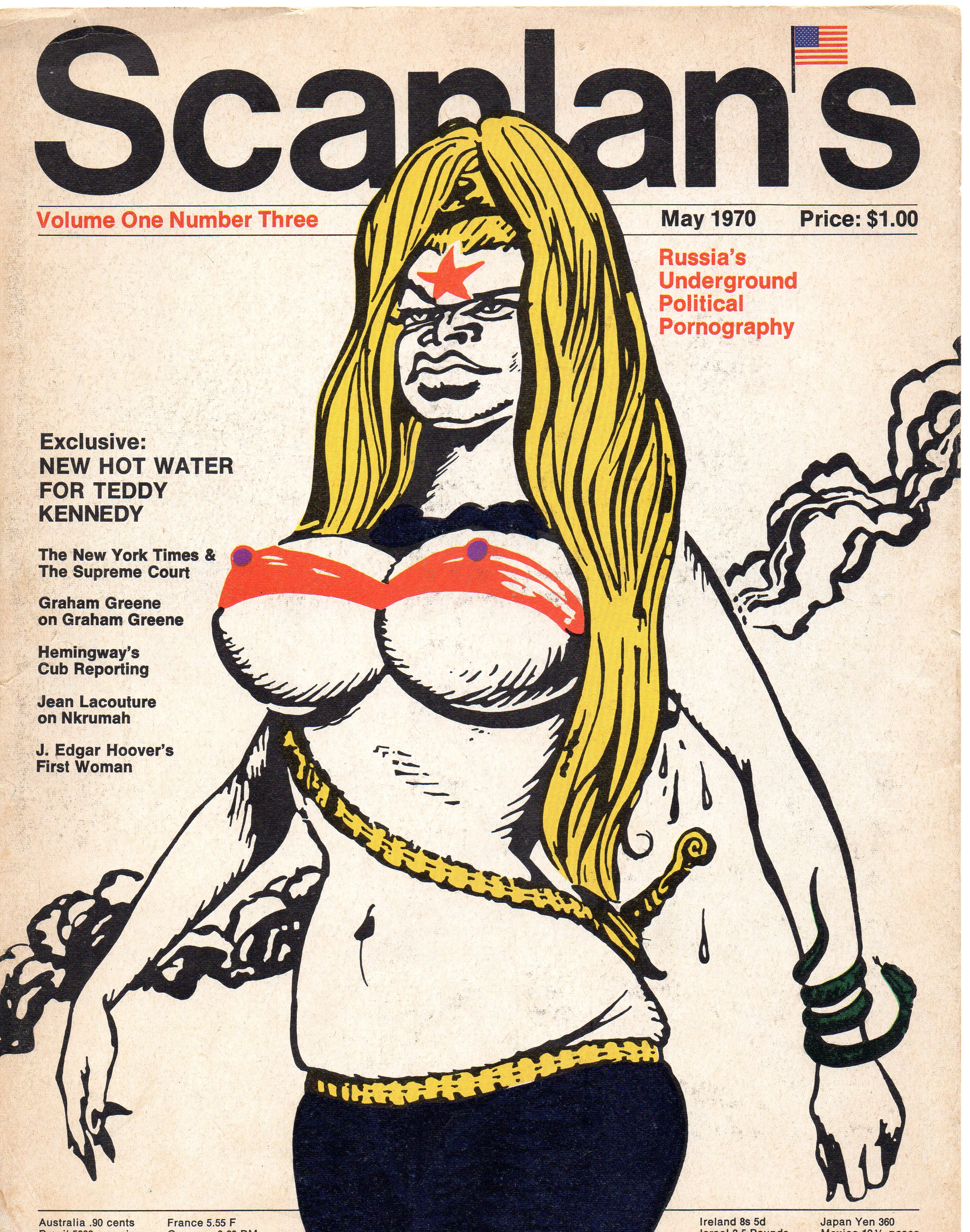 Scanlan's Monthly 3, May 1970, from my personal collection