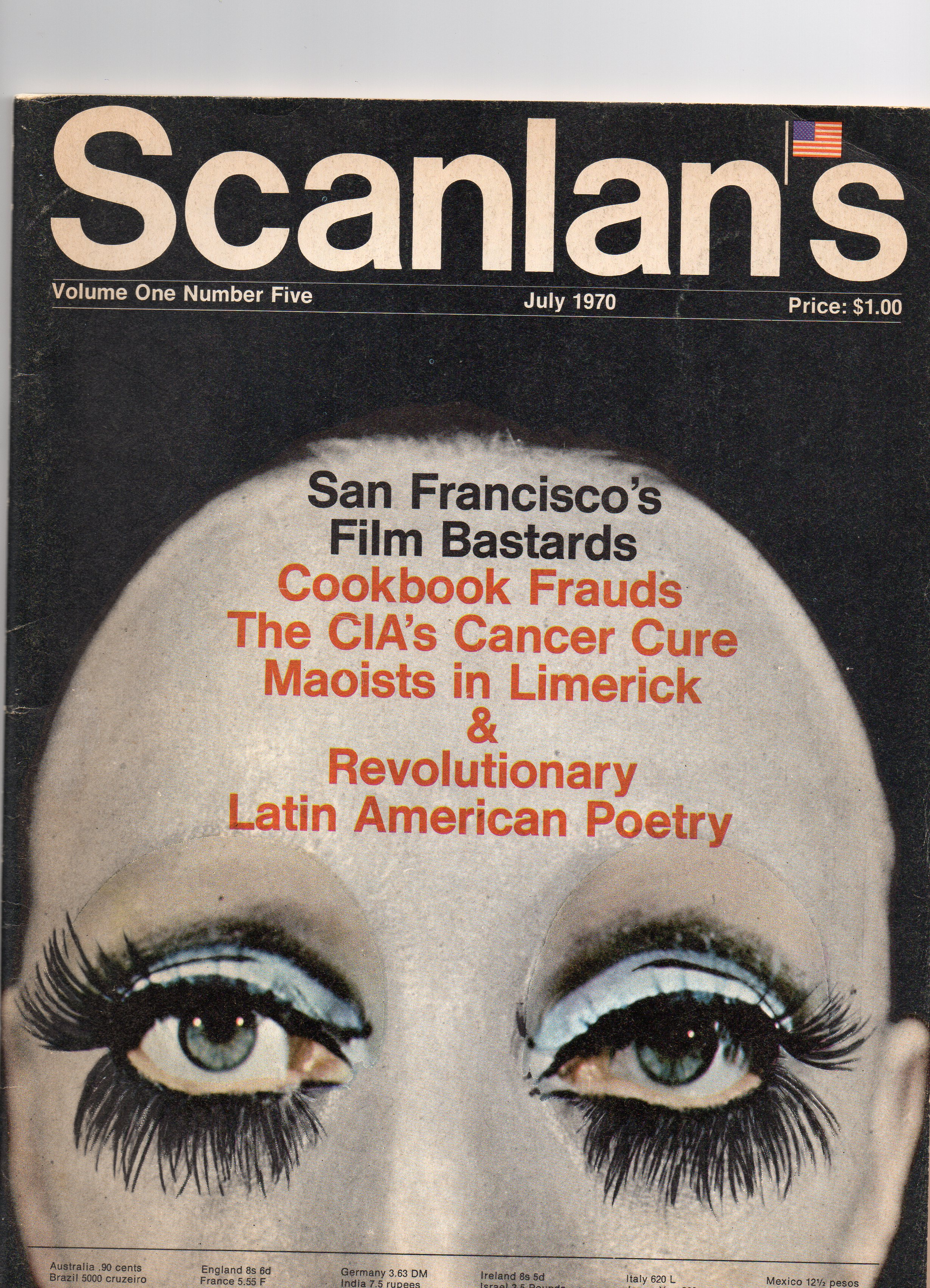 Scanlan's Monthly 5, July 1970, from my personal collection