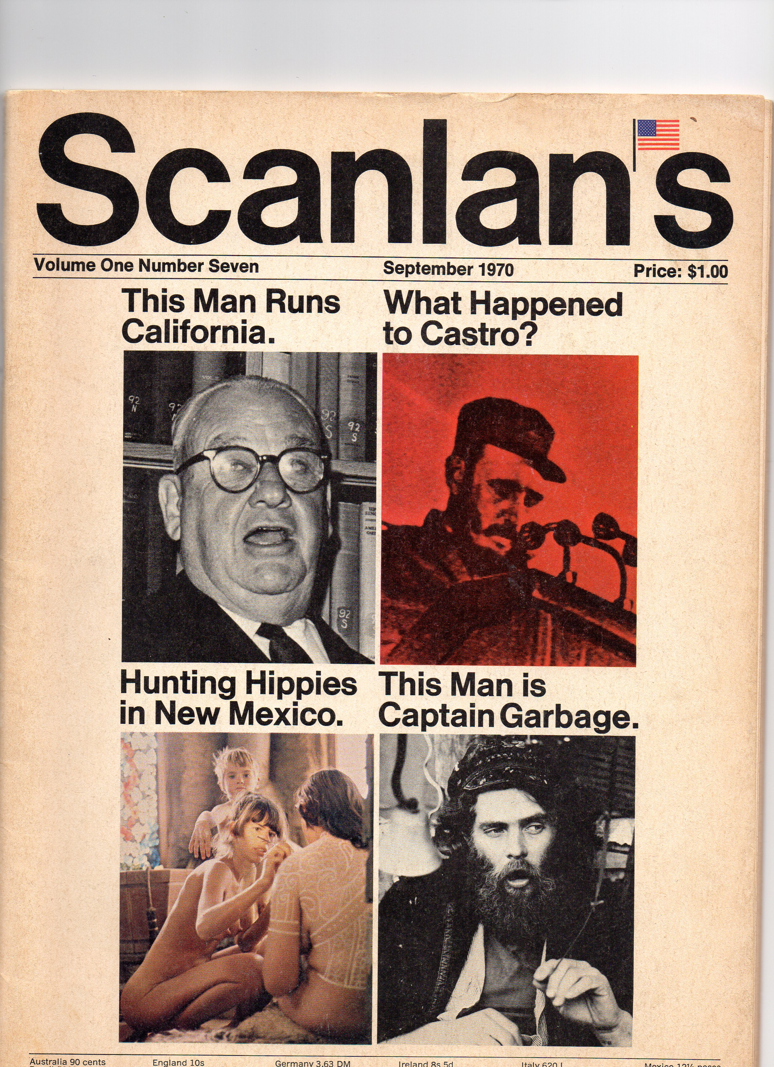 Scanlan's Monthly 7, September 1970, from my personal collection
