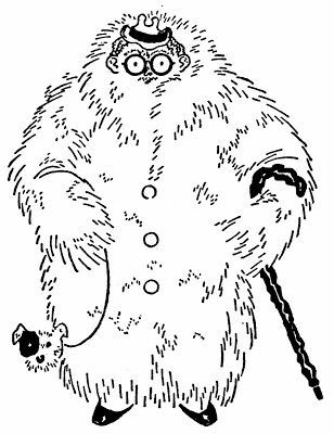 Irrelevant illustration from Cuppy's 1931 How to tell your friends from the apes