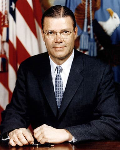 Robert S. McNamara, President of the Ford Motor Company, Secretary of Defense for Presidents John Kennedy and Lyndon Johnson