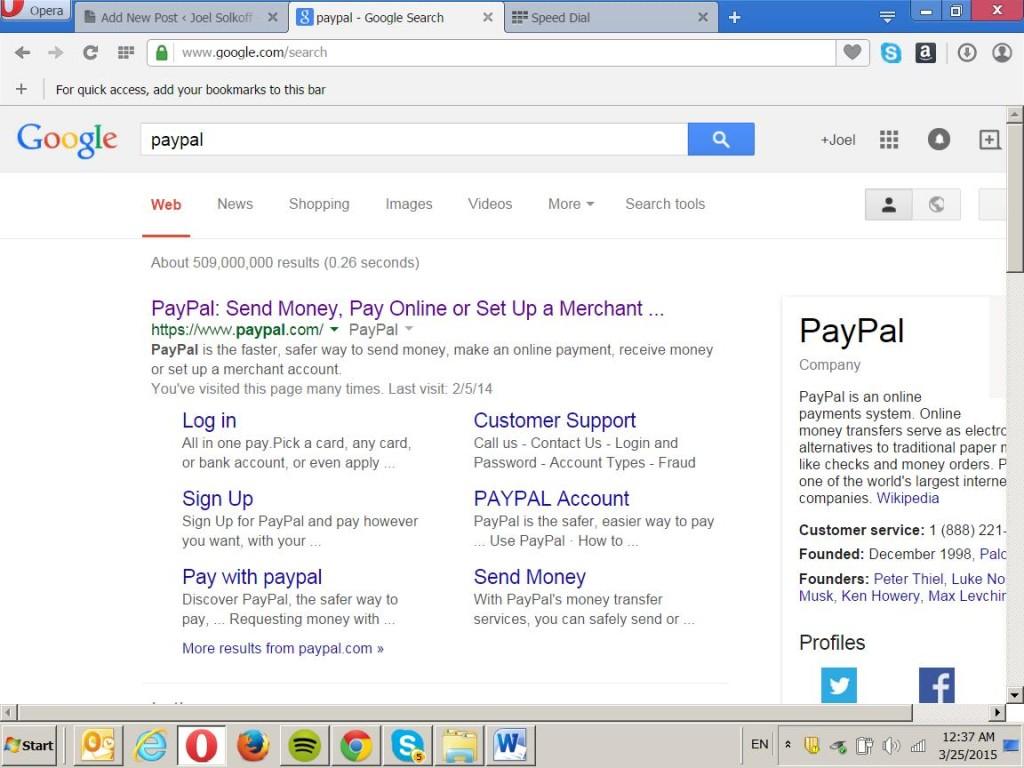 PayPalStart