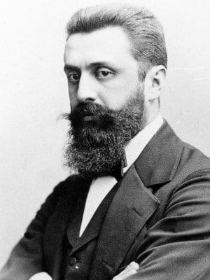 Theodore Hertzl founder of The Zionist Movement