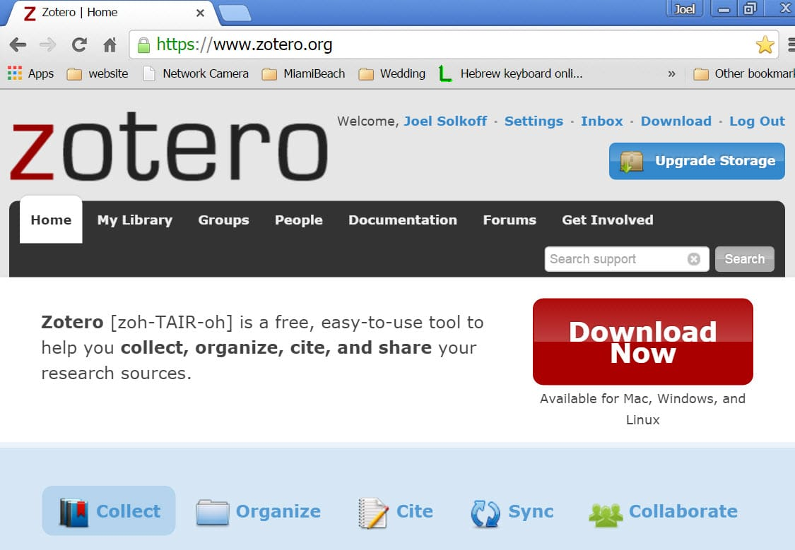 Zotero Historically Was Designed As An Extension Working Within Firefox  Now There Is A Standalone