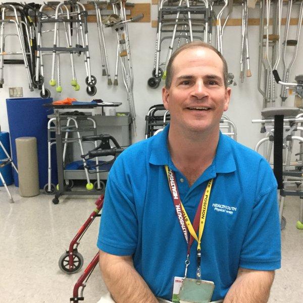 Senior Physical Therapist Steven Uberti