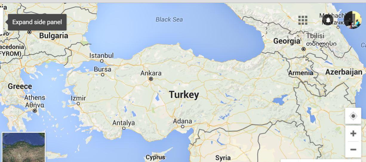 Note Syrian border