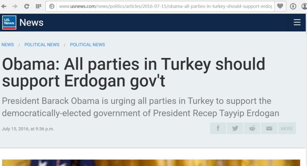 President Turkey