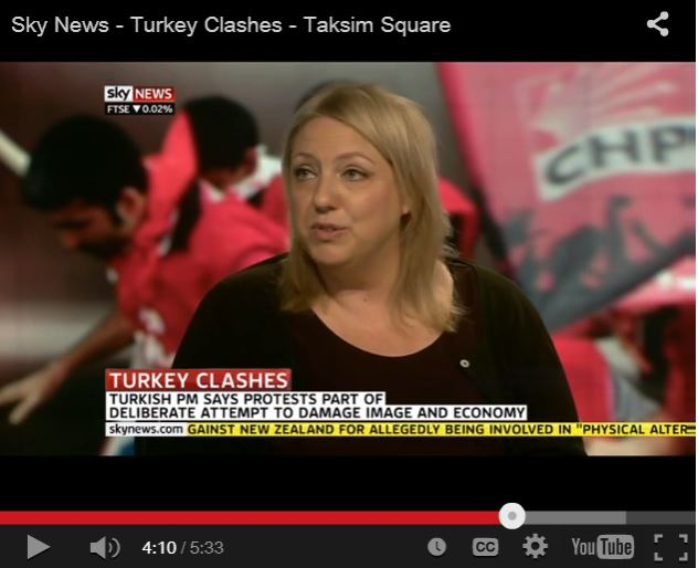 Sky News Instanbul correspondent reports live