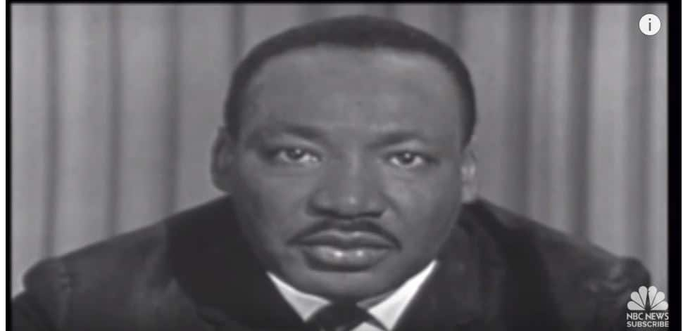 Dr. Martin Luther King, Jr, three years after I met him while attending a service at the Ebenezer Baptist Church