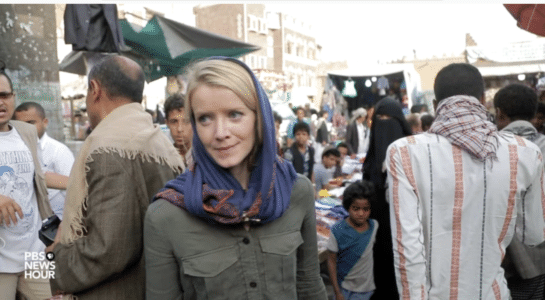 PBS: Appoint Jane Ferguson, risking her life in Yemen,  permanent moderator, Washington Week