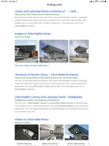 Zaha Hadid libraries