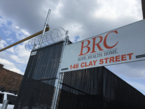Greenpoint Brooklyn homeless shelter - New York City Mayor Bill de Blasio