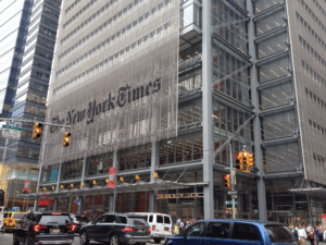 Renzo Piano's 2007 New York Times building
