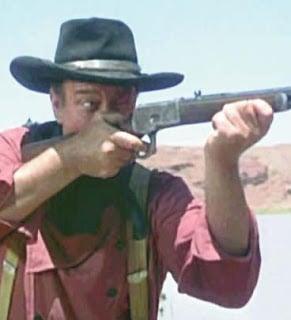 John Wayne don't run away